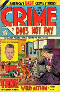 Cover Thumbnail for Crime Does Not Pay (Lev Gleason, 1942 series) #116