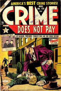 Cover Thumbnail for Crime Does Not Pay (Lev Gleason, 1942 series) #120