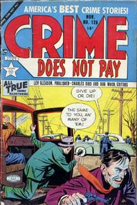 Cover Thumbnail for Crime Does Not Pay (Lev Gleason, 1942 series) #128