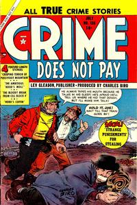 Cover Thumbnail for Crime Does Not Pay (Lev Gleason, 1942 series) #136
