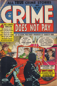 Cover Thumbnail for Crime Does Not Pay (Lev Gleason, 1942 series) #137