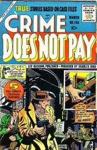 Cover Thumbnail for Crime Does Not Pay (Lev Gleason, 1942 series) #143