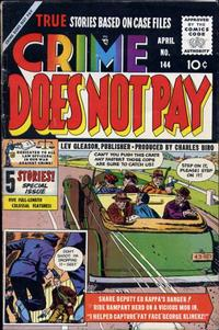 Cover Thumbnail for Crime Does Not Pay (Lev Gleason, 1942 series) #144
