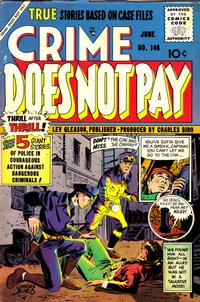 Cover Thumbnail for Crime Does Not Pay (Lev Gleason, 1942 series) #146