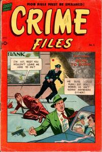 Cover Thumbnail for Crime Files (Pines, 1952 series) #6