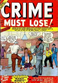 Cover Thumbnail for Crime Must Lose (Marvel, 1950 series) #4