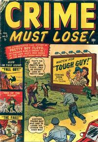 Cover Thumbnail for Crime Must Lose (Marvel, 1950 series) #5