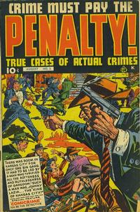 Cover Thumbnail for Crime Must Pay the Penalty (Ace Magazines, 1948 series) #3