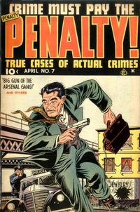 Cover Thumbnail for Crime Must Pay the Penalty (Ace Magazines, 1948 series) #7
