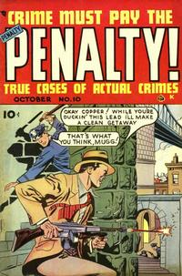 Cover Thumbnail for Crime Must Pay the Penalty (Ace Magazines, 1948 series) #10