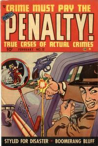 Cover Thumbnail for Crime Must Pay the Penalty (Ace Magazines, 1948 series) #12