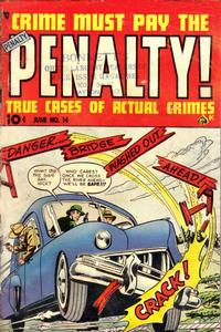 Cover Thumbnail for Crime Must Pay the Penalty (Ace Magazines, 1948 series) #14