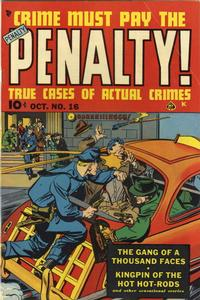 Cover Thumbnail for Crime Must Pay the Penalty (Ace Magazines, 1948 series) #16