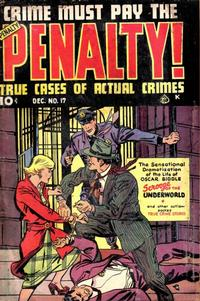 Cover Thumbnail for Crime Must Pay the Penalty (Ace Magazines, 1948 series) #17