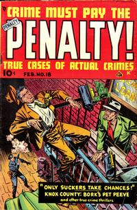 Cover Thumbnail for Crime Must Pay the Penalty (Ace Magazines, 1948 series) #18