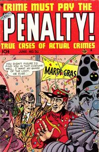 Cover Thumbnail for Crime Must Pay the Penalty (Ace Magazines, 1948 series) #20
