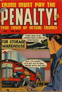 Cover Thumbnail for Crime Must Pay the Penalty (Ace Magazines, 1948 series) #22