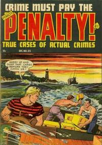 Cover Thumbnail for Crime Must Pay the Penalty (Ace Magazines, 1948 series) #23