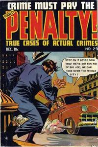 Cover Thumbnail for Crime Must Pay the Penalty (Ace Magazines, 1948 series) #29