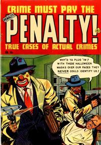 Cover Thumbnail for Crime Must Pay the Penalty (Ace Magazines, 1948 series) #30