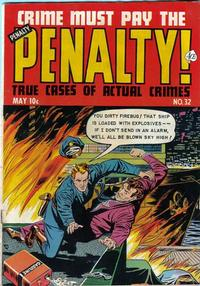Cover for Crime Must Pay the Penalty (Ace Magazines, 1948 series) #32