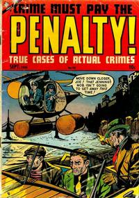 Cover Thumbnail for Crime Must Pay the Penalty (Ace Magazines, 1948 series) #40