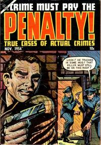 Cover Thumbnail for Crime Must Pay the Penalty (Ace Magazines, 1948 series) #41