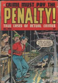 Cover Thumbnail for Crime Must Pay the Penalty (Ace Magazines, 1948 series) #42