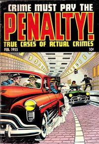 Cover Thumbnail for Crime Must Pay the Penalty (Ace Magazines, 1948 series) #43