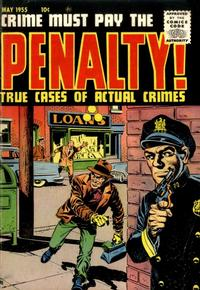 Cover Thumbnail for Crime Must Pay the Penalty (Ace Magazines, 1948 series) #45