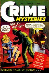 Cover Thumbnail for Crime Mysteries (Ribage, 1952 series) #1