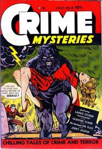 Cover Thumbnail for Crime Mysteries (Ribage, 1952 series) #2