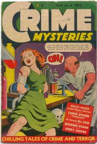 Cover Thumbnail for Crime Mysteries (Ribage, 1952 series) #4