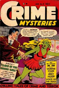 Cover Thumbnail for Crime Mysteries (Ribage, 1952 series) #5