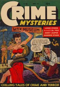 Cover Thumbnail for Crime Mysteries (Ribage, 1952 series) #6