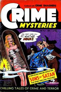 Cover Thumbnail for Crime Mysteries (Ribage, 1952 series) #7