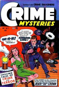 Cover Thumbnail for Crime Mysteries (Ribage, 1952 series) #8