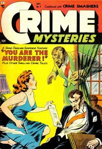 Cover Thumbnail for Crime Mysteries (Ribage, 1952 series) #9