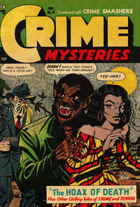 Cover Thumbnail for Crime Mysteries (Ribage, 1952 series) #10