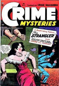 Cover Thumbnail for Crime Mysteries (Ribage, 1952 series) #11