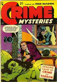 Cover Thumbnail for Crime Mysteries (Ribage, 1952 series) #12