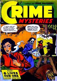 Cover Thumbnail for Crime Mysteries (Ribage, 1952 series) #13