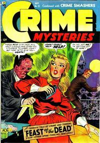Cover Thumbnail for Crime Mysteries (Ribage, 1952 series) #15