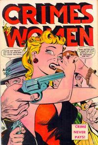 Cover Thumbnail for Crimes by Women (Fox, 1948 series) #8