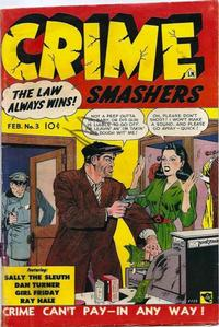 Cover Thumbnail for Crime Smashers (Trojan Magazines, 1950 series) #3