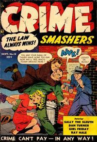 Cover Thumbnail for Crime Smashers (Trojan Magazines, 1950 series) #12