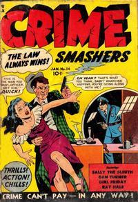 Cover Thumbnail for Crime Smashers (Trojan Magazines, 1950 series) #14