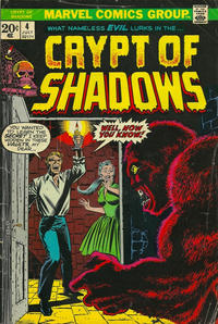 Cover Thumbnail for Crypt of Shadows (Marvel, 1973 series) #4