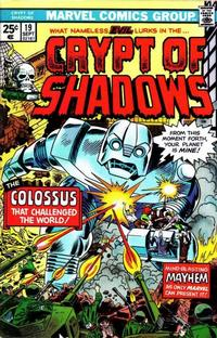 Cover Thumbnail for Crypt of Shadows (Marvel, 1973 series) #19