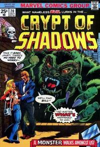 Cover for Crypt of Shadows (Marvel, 1973 series) #20